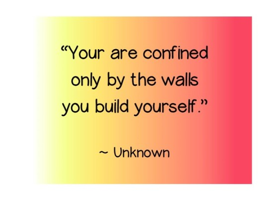 youare confined quote